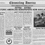 Online Newspapers Historic and Current